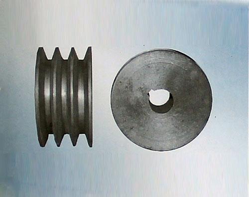 三槽兩平型工作輪